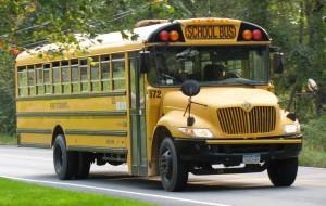 Gul skolebuss